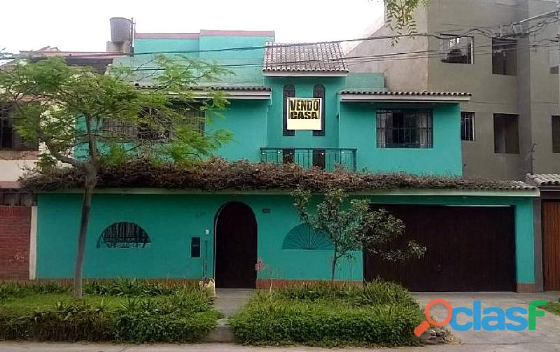 "Se vende casa lima monterrico ""santiago de surco"" 152 m2"