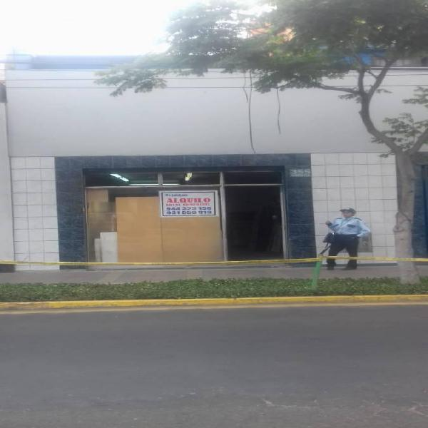 Alquiler local comercial - san isidro