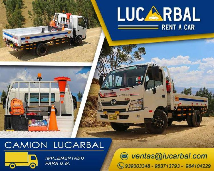 Alquiler de camionetas 4x4 para minería y corporaciones