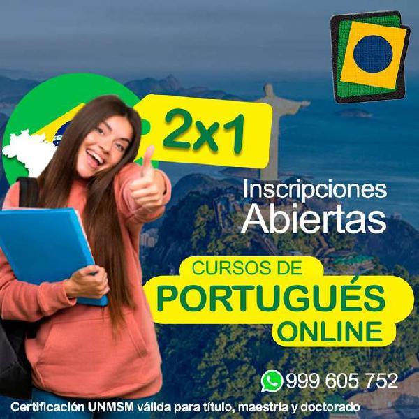 Clases de portugues para lima y provincia