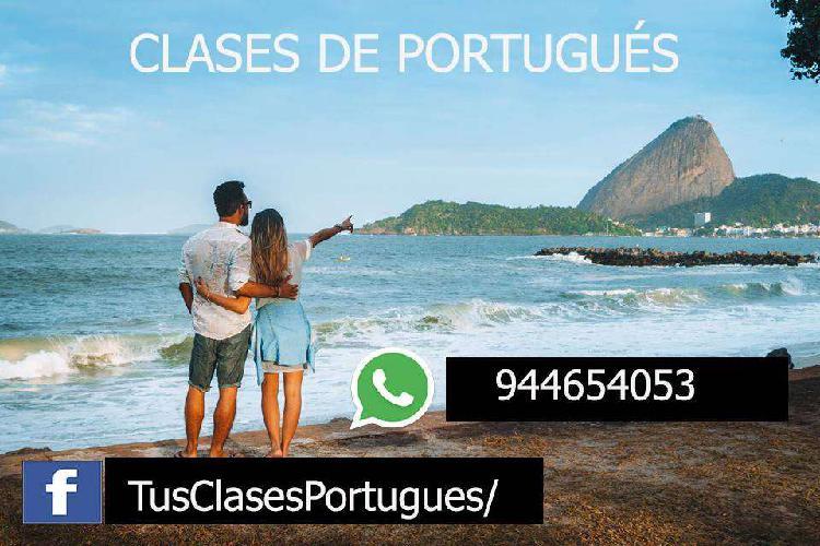 Clases de portugués- sin salir de casa con el mejor método