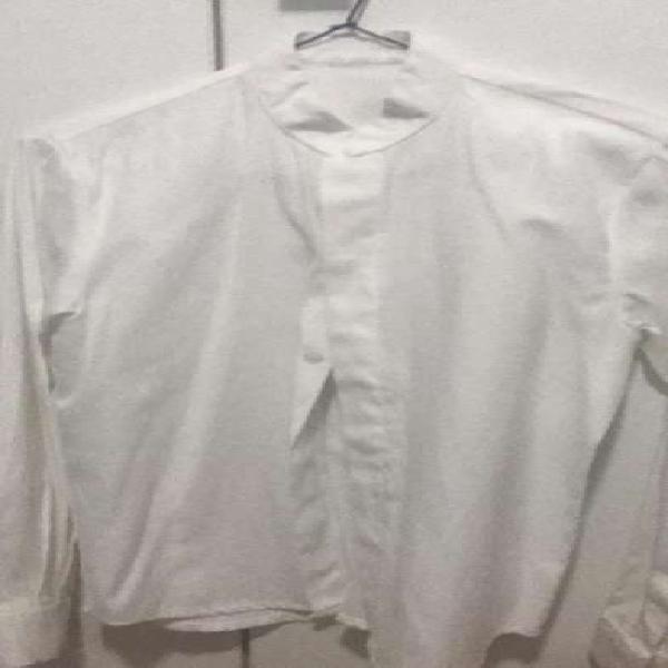 Camisa blanca niño talla 10 un uso