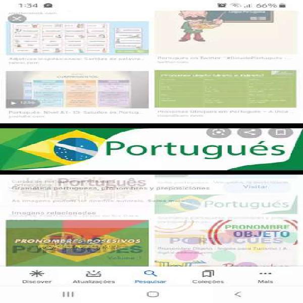 Enseño português