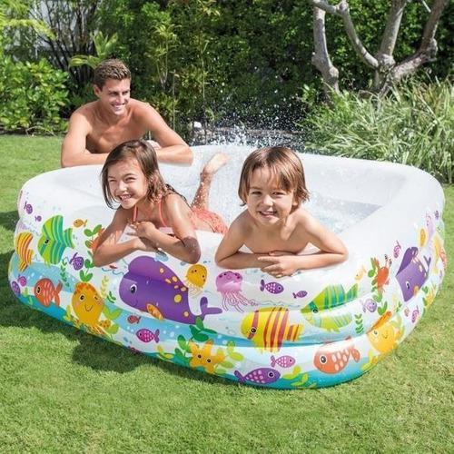 Intex piscina inflable niños 157x157x122