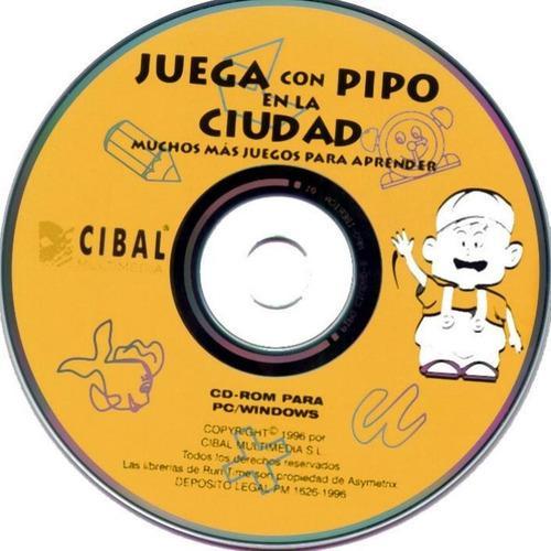 Juegos videos para niños juega y aprende con pipo en cd rom