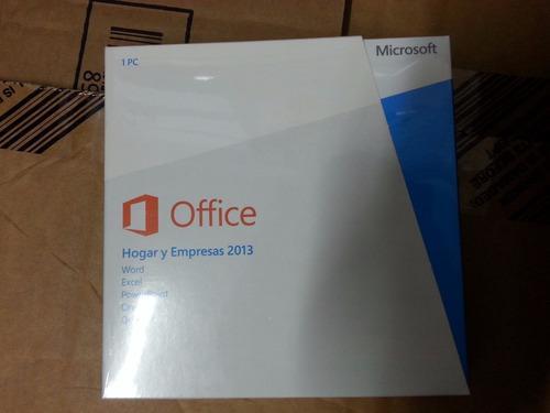 Office 2013 hogar empresa ffpp