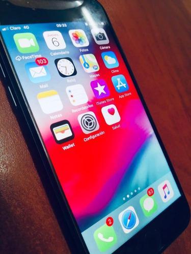 Iphone 8 64gb libre black apple + caja + accesorios