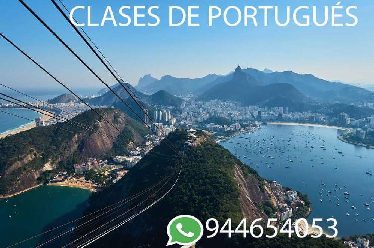 Online-virtual- clases de portugués a todo nivel- por