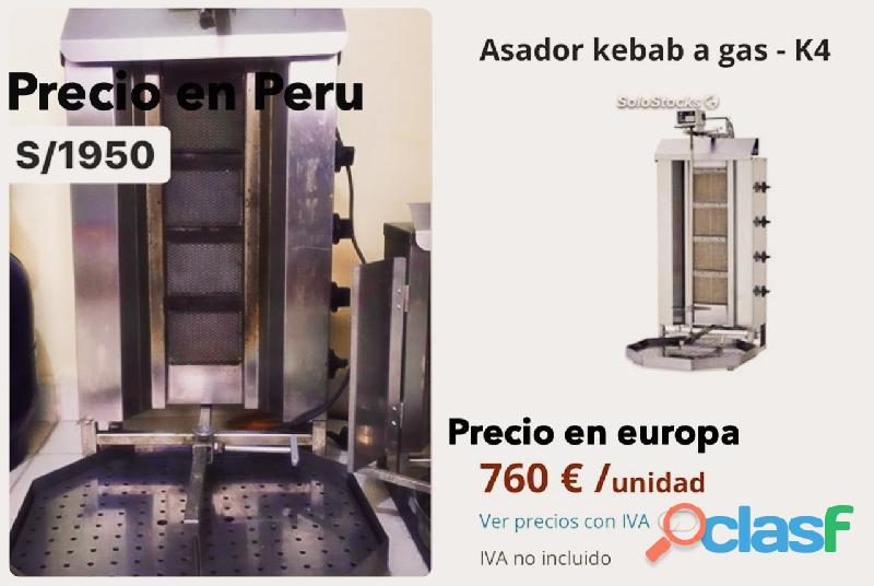 Maquinas de shawarma alemanas