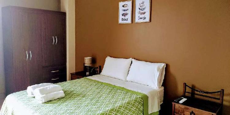 Alquiler bello apartamento amoblado a 15mn de paracas y 5mn