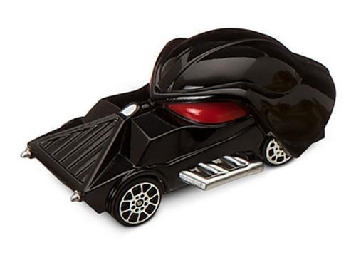 Gran remate-carro racer star wars - darth vader - disney