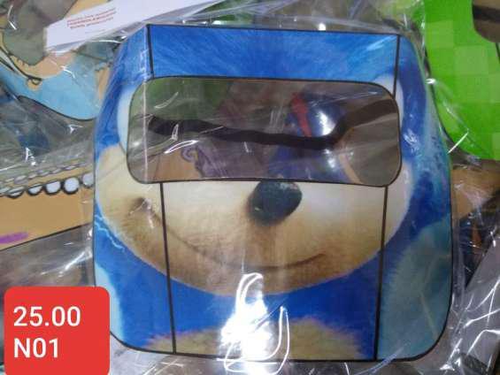 Mascarilla protector facial para niños superhéroes en lima
