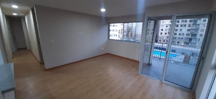 Alquiler departamento de estreno (83.80 m²) - san miguel id