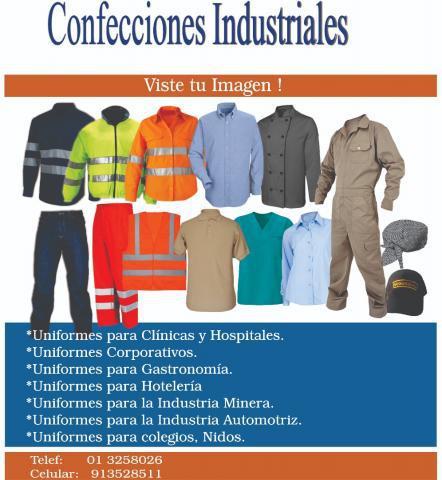 Confecciones industriales en callao