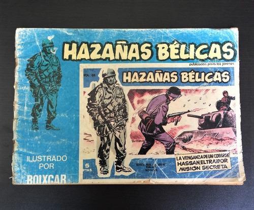 Hazañas Belicas Comic Segunda Guerra Mundial Edic Ursu 1973