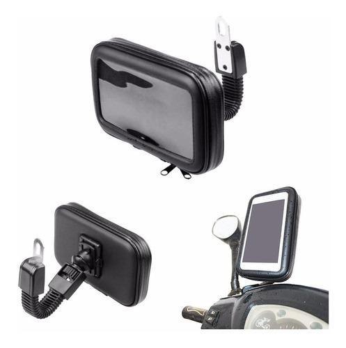 Holder para moto porta celular gps funda lince