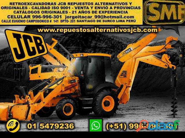 Retroexcavadoras jcb repuestos jcb lima perú maquinaria pesada lima perú jcb excavadoras jcb