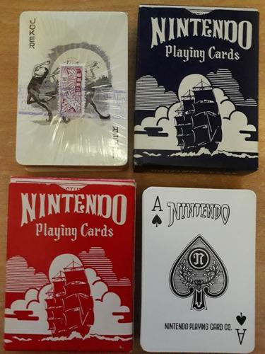 Antiguos casinos naipes cartas barajas nintendo