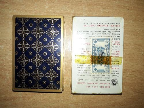Antiguos naipes casinos cartas barajas