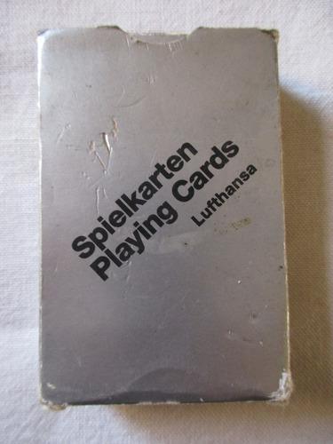 Cartas casinos souvenir aerolínea lufthansa