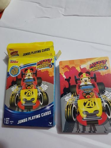 Cartas naipes barajas casino mickey andthe roadstore