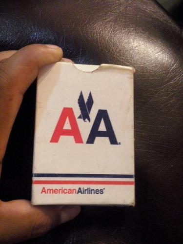 Casinos,barajas cartas de coleccion american airlines