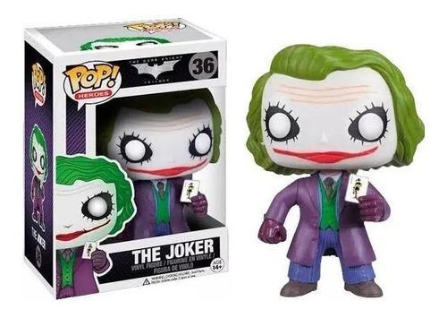 Funko pop the joker - batman the dark night #36 joker carta