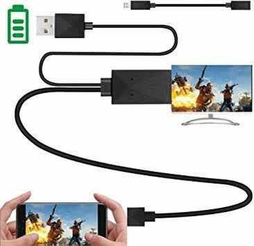Cable mhl hdmi micro usb-hdmi samsung galaxy s3/s4/s5,note2