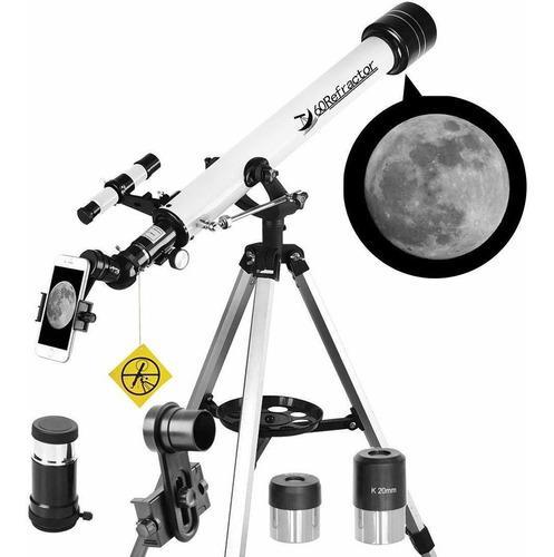 Telescopio 60mm apeture 700mm aztelescopio refractor