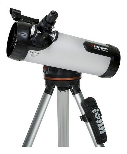 Telescopio computarizado celestron 114 lcm
