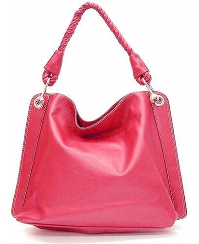 Tosca classic textured shoulder handbag