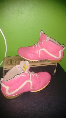 Zapatillas cat pink talla 39 usadas de cuero buen estado