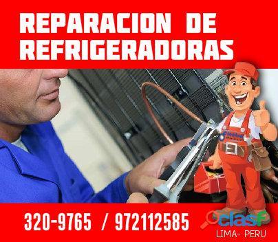 Servicio encontrado, servicio técnico de refrigeradoras, 972112588