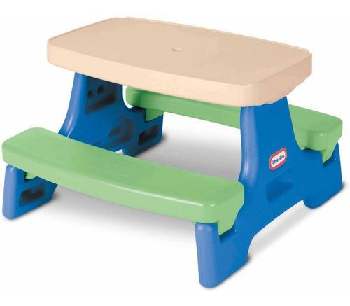 Little tikes mesa portatil c/ bancas 4 niños picnic juegos