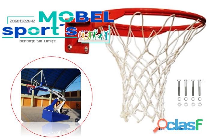 Aro de basquet fijo   mobel sport´s