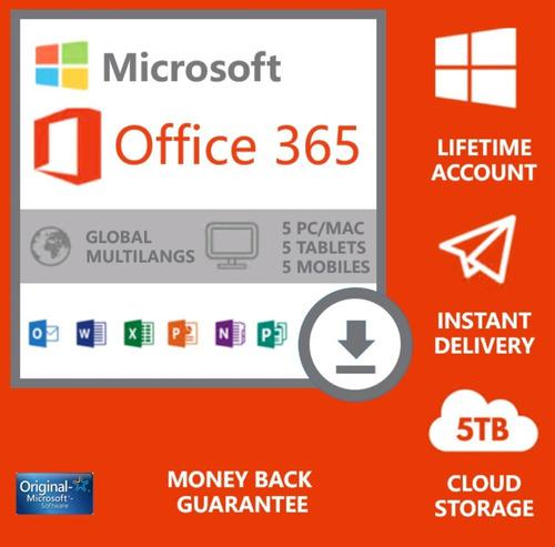 Microsoft office 2020 original en español
