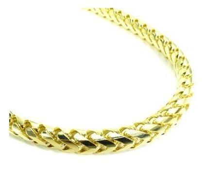 Cadena de oro amarillo 18k - miami cuban chain