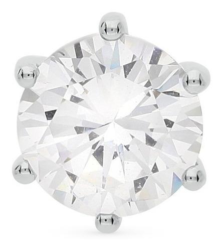 Cadena de oro blanco 18k con diamante colgante