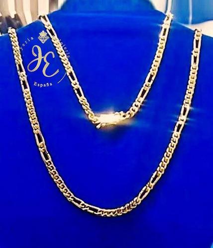 Cadena de oro ley 24k cc_01 collar hombre italiano jespaña