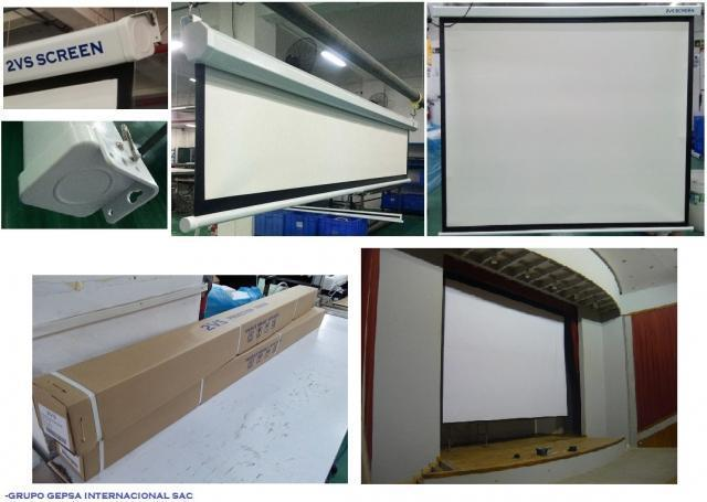 Ecran - pantallas para proyección y mas.... en lima