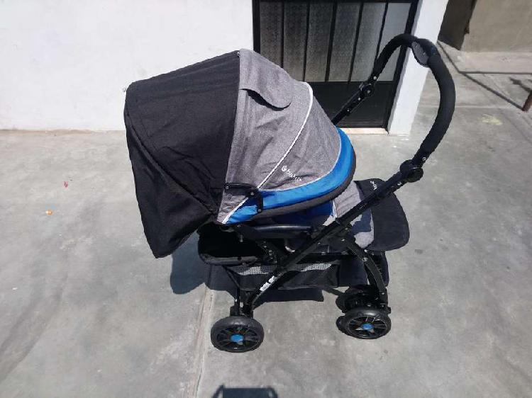 Nuevo en caja, coche cuna para bebe ebaby, modelo yodie azul
