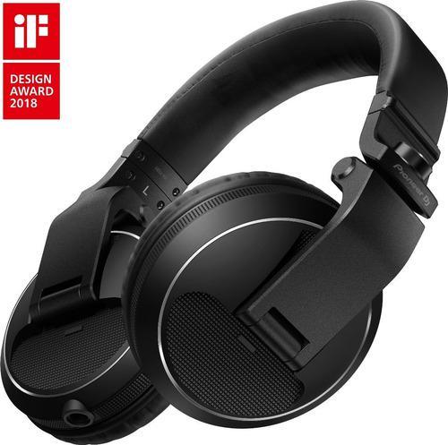 Pioneer dj hdj-x5 audífonos dj profesional diadema (negro)