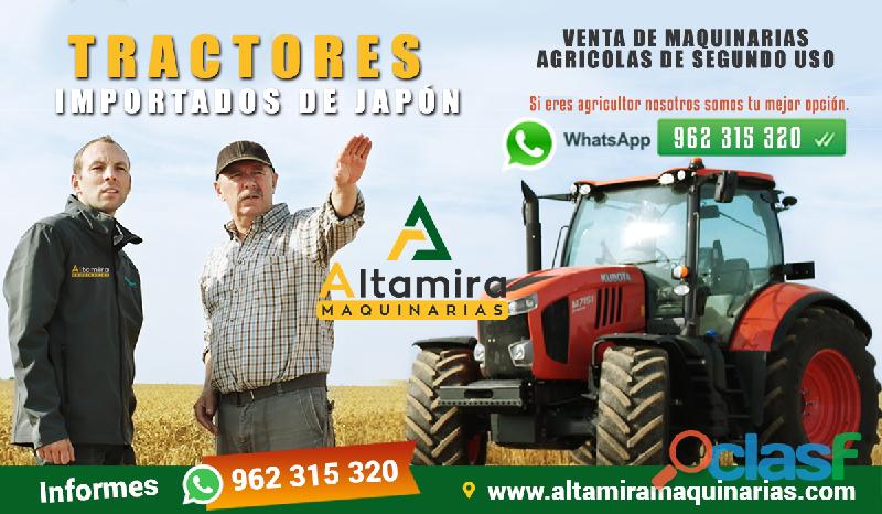 Tractores japones en venta de segundo uso