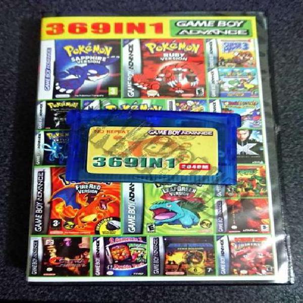 Cartucho Multijuegos Para Game Boy Advance - Nintendo Ds