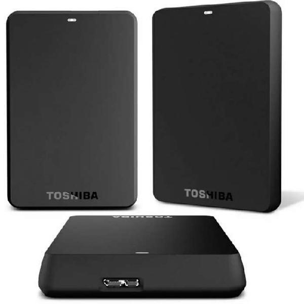Disco duro portátil 1 tb toshiba 4k canvio advance altas