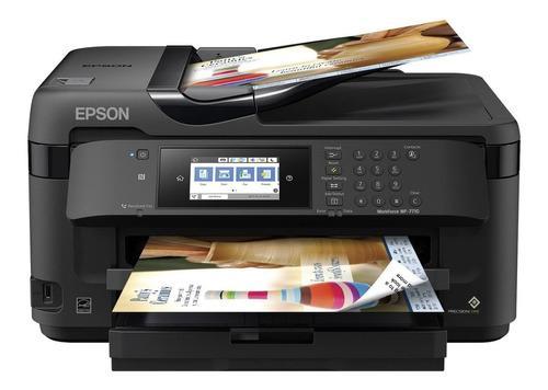 Impresora epson a3 wf-7710 ecotank wifi