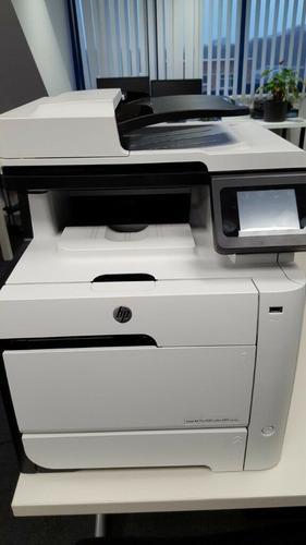 Impresora hp laserjet color mfp m475