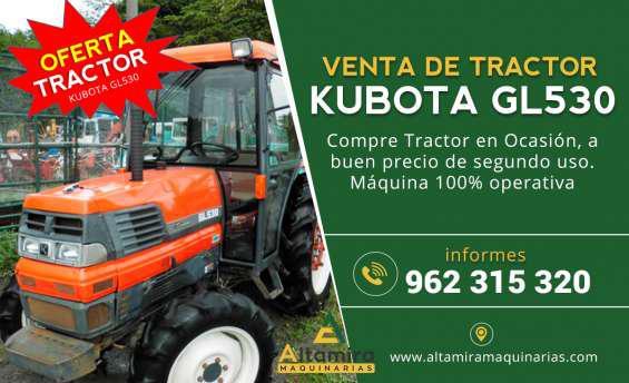Se remata tractor kubota en arequipa