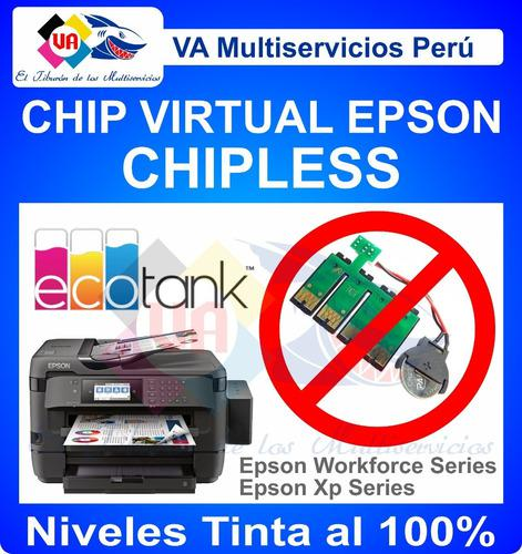 Sistema continuo epson wf 7710/7720/3720 chipless sin chip