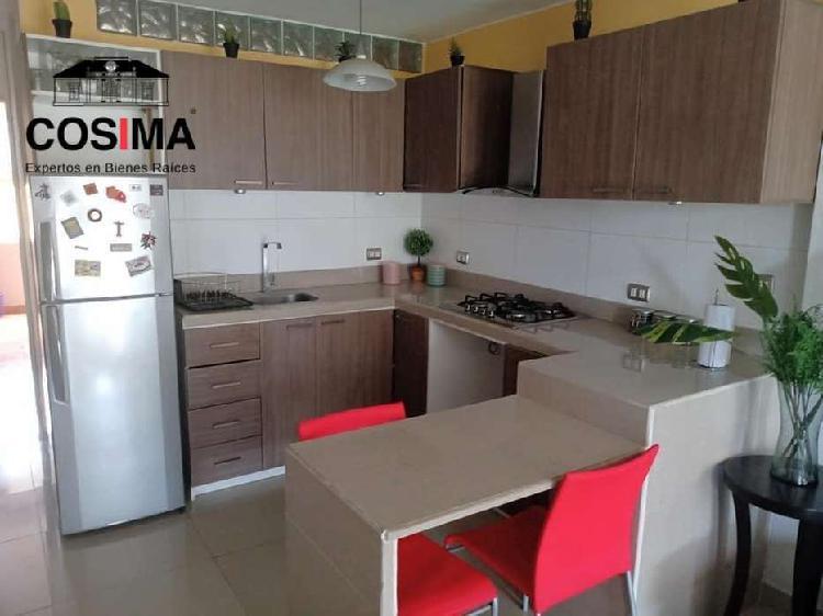 Apartamento amoblado en Casa familiar en Monte Caoba, Surco